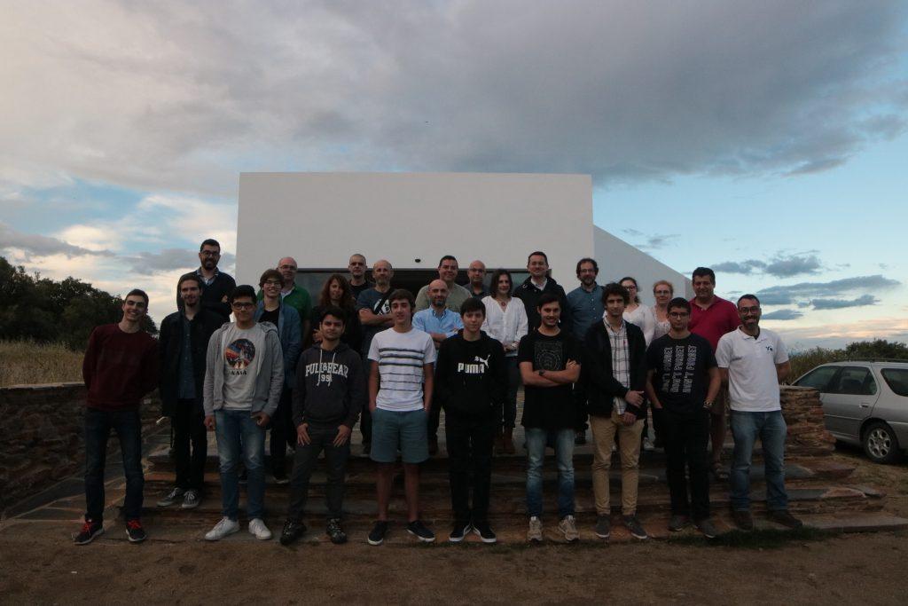 Finalistas das Olimpíadas da Astronomia 2018