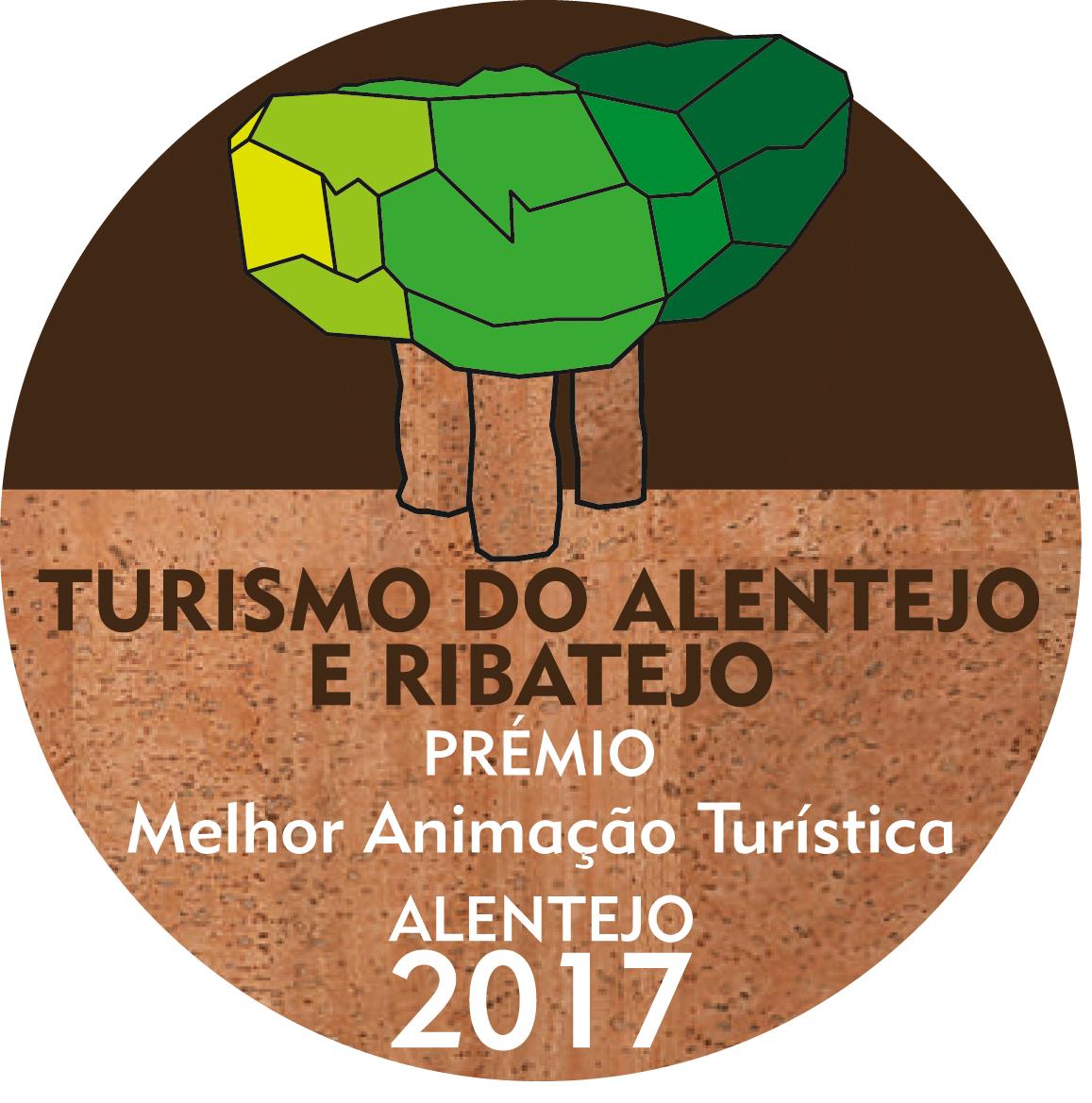 """Prémio na categoria """"Melhor Animação Turística 2017"""" nos Prémios Turísmo do Alentejo"""