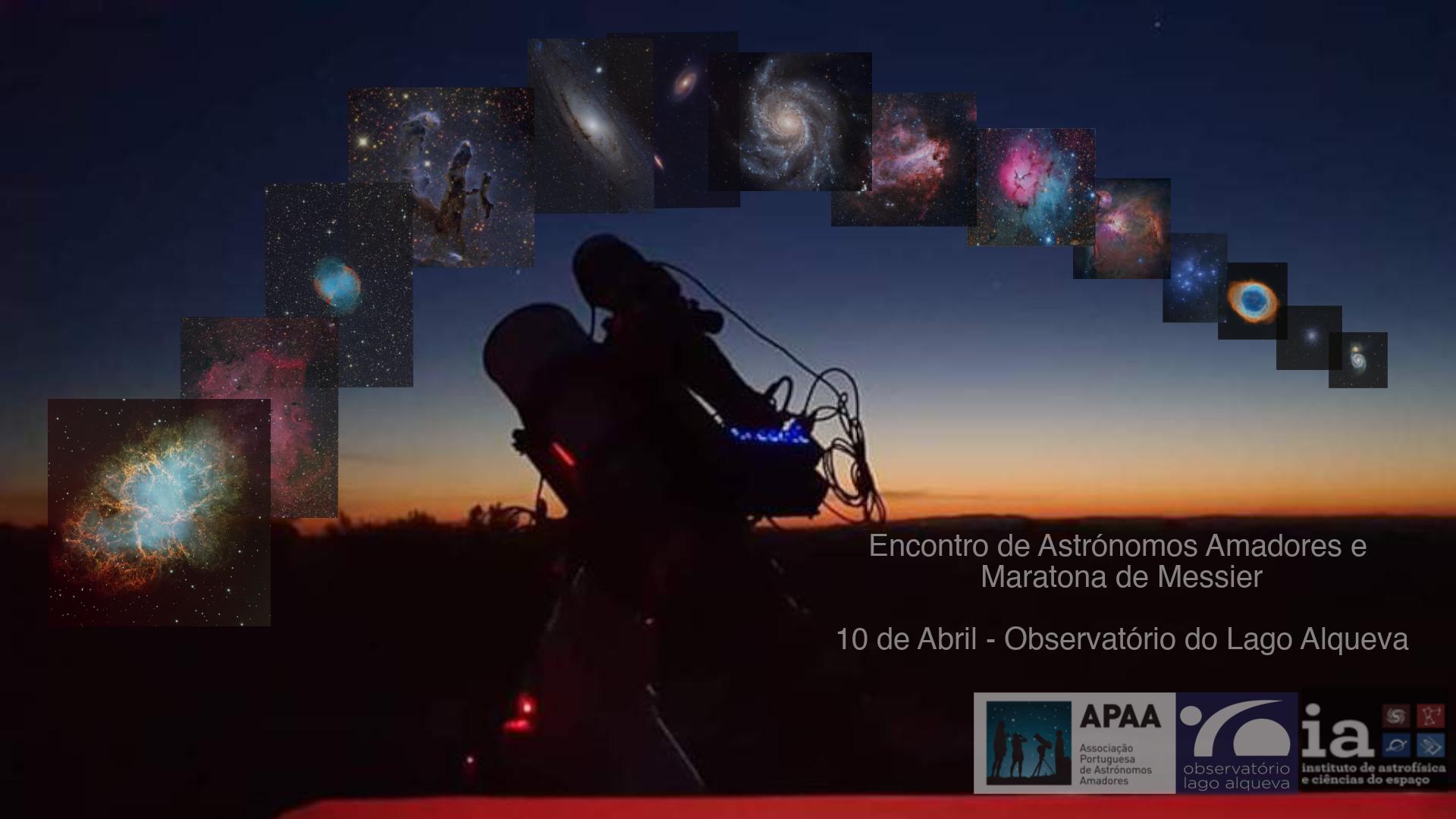 Reunión de astrónomos aficionados y maratón Messier