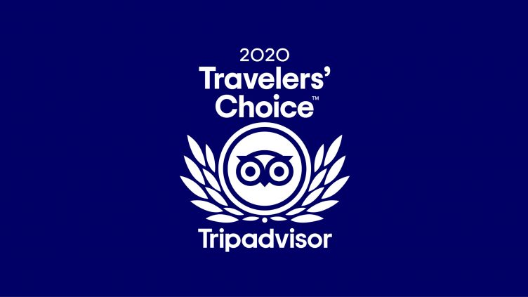 OLA is Traveller's choice 2020 on Tripadvisor