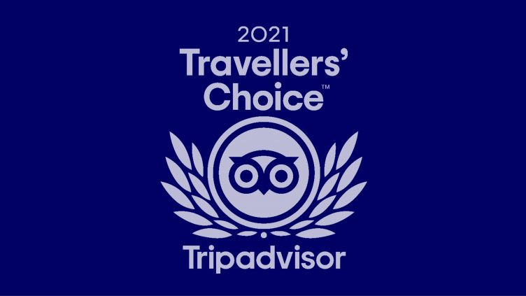 OLA is Traveller's choice 2021 on Tripadvisor